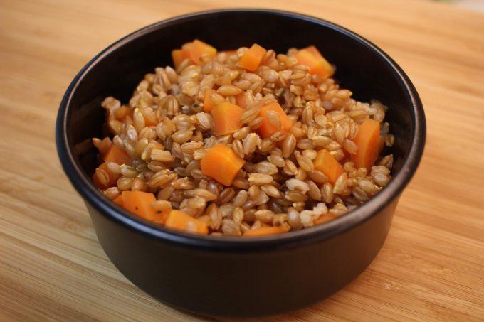 petit épeautre aux carottes