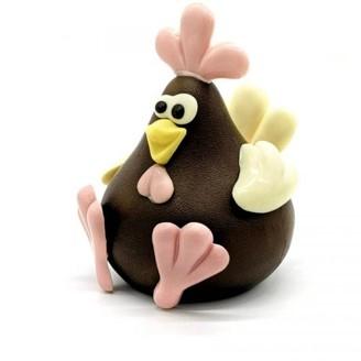 poule chocolat