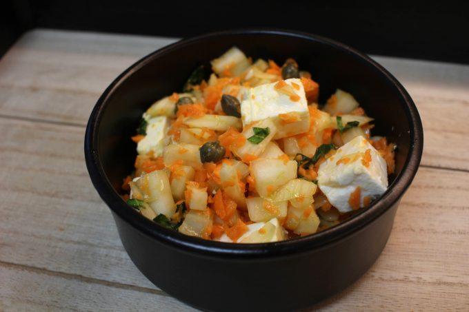 salade de fenouil et carotte