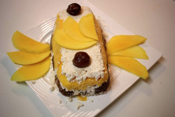 vacherin mangue marron