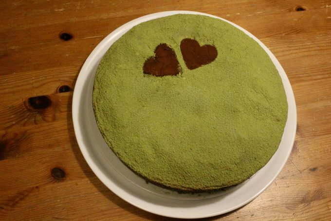 gateau au the matcha