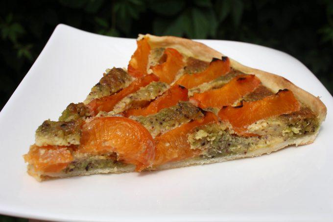 tarte abricot pistache part