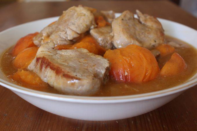 filet mignon aux abricots